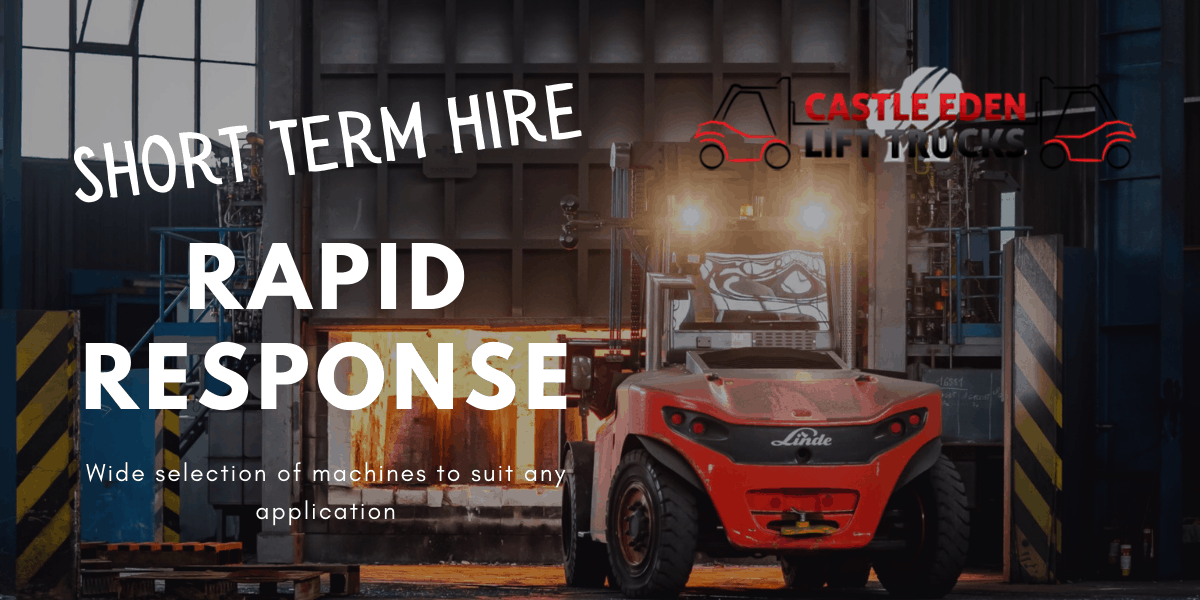 Read more about the article Short Term Forklift Hire – Fast Local Delivery